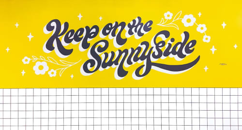 Ann Chen (Annlettering) - Murals and Signage