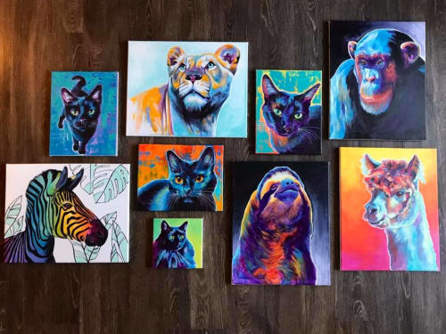 Alicia VanNoy Call - Paintings and Art
