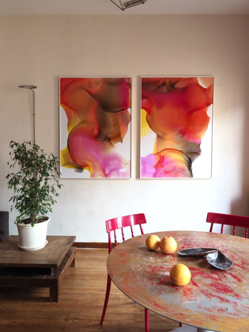 Paintings by Sasha Roschin seen at Private Residence, Saint Petersburg - Untitled