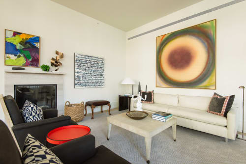 Art Curation by Indiewalls | Design With Art seen at Private Residence, New York - 215 Sullivan