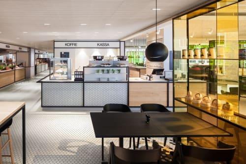 Interior Design by i29 seen at Utrecht, Utrecht - The Kitchen De Bijenkorf Utrecht