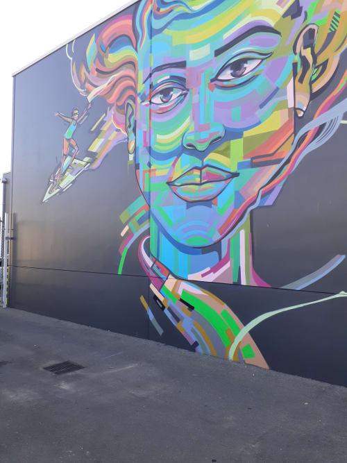 Happiness   Street Murals by Viktart Mwangi   SACARE in Broadview