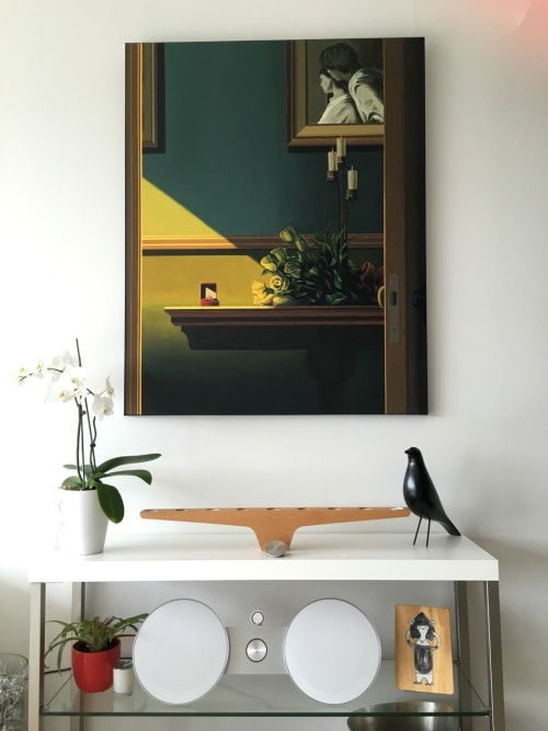 Paintings by ross jones seen at Private Residence, Auckland - Surprise