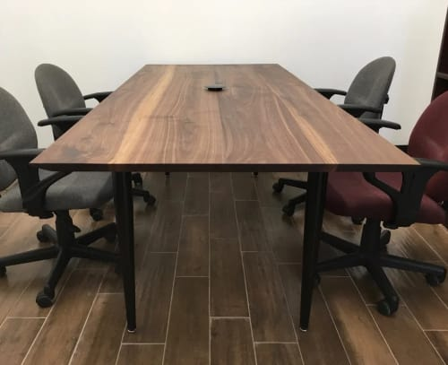Tables by HerlanderArt seen at Metro Drafting & Design Ltd, Brooklyn - Conference Table