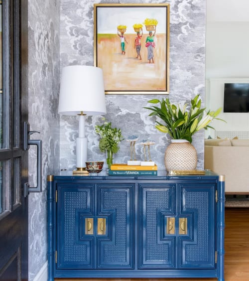 Paintings by Jean Anne Pate Maynard seen at Private Residence, Dallas - Headed Home