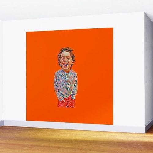 Murals by Zuzugraphics / Diego-t seen at Antoine Proulx, LLC, Phoenix - Portrait of a Happy Child