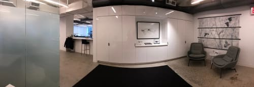Photography by Andrea Bonfils at Merx Aviation, New York - Merx Aviation Permanent Puzzle Woods