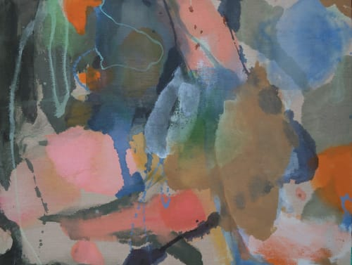 Paintings by Wendy Grace seen at Creator's Studio, Melbourne - Promises of tomorrow