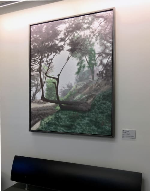 Paintings by Elaine Coombs seen at San Francisco Medical Examiner, San Francisco - Preferring the Poetic