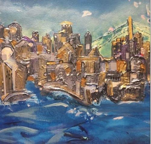 Jan Preston - Paintings and Art