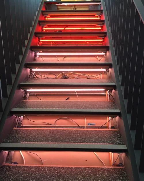 Lighting by ILANEL DESIGN STUDIO seen at Justin Art House Museum - JAHM, Prahran - 39 STEPS