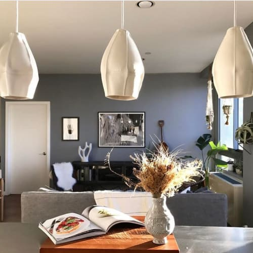 Pendants by Souda seen at Private Residence, New York - Kawa Pendants