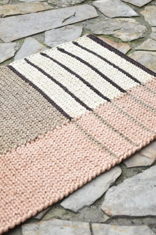 Rugs by Zuahaza by Tatiana - Curiti Fique Small Rug