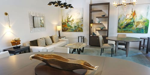 Tableware by Ron Dier Design seen at Thomas Lavin, Laguna Niguel - Serpentine Centerpiece