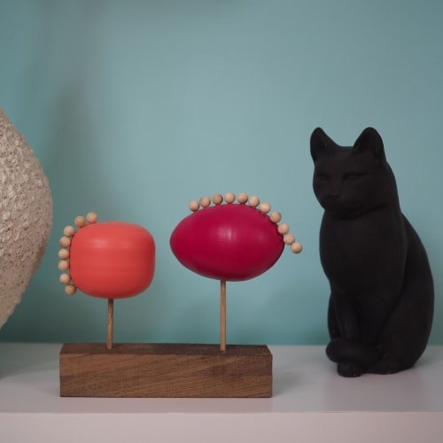 Sculptures by Meg Morrison Design seen at Private Residence, Richmond - Balance Series
