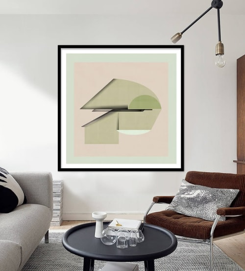 Art & Wall Decor by Jesús Perea seen at Private Residence, Madrid - Abstract composition 925 (limited edition of 20)