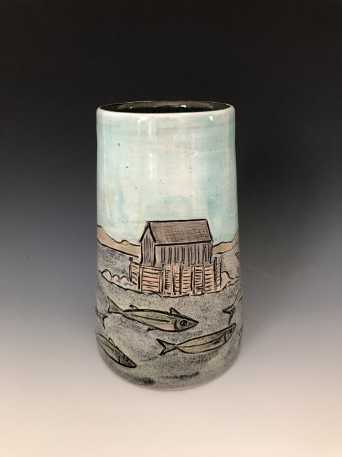 Vases & Vessels by Marla Benton seen at Mahone Bay - Vases & Flower Bricks