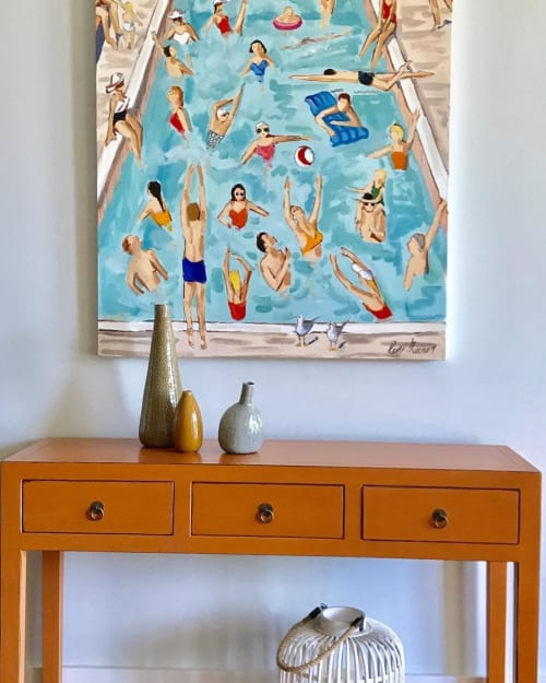 Paintings by René Guerin seen at Private Residence, Vero Beach - Artwork