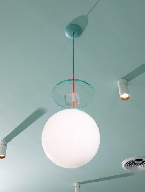 Custom Pendant Light | Pendants by Sergio Mannino Studio | Medly Pharmacy in Brooklyn