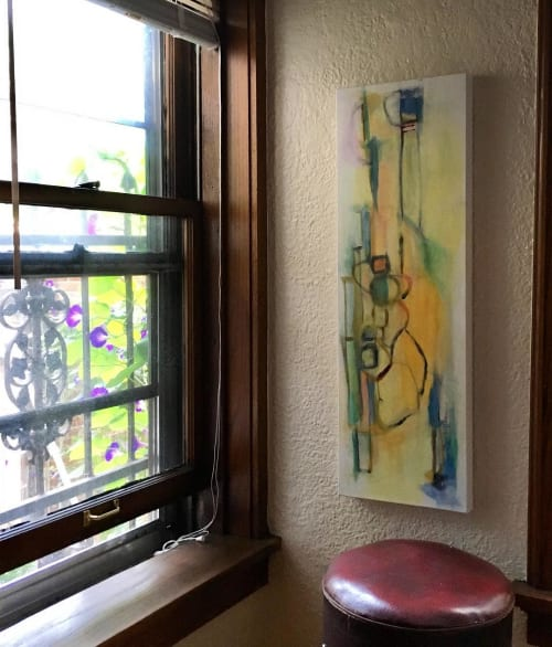 Paintings by Meg Ciccantelli seen at Private Residence, Milwaukee - Morning Glories