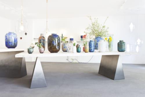 Vases & Vessels by Milan Pekar seen at Prague, Prague - Crystal vases Volume series