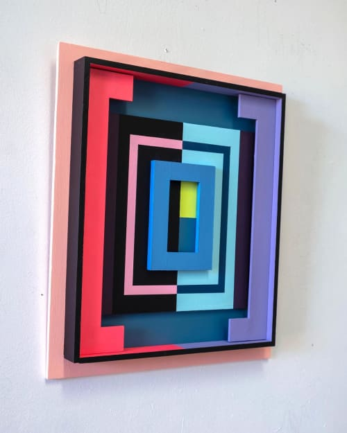 Paintings by Tom Hammer seen at Private Residence, New York - Halfsies (In Full View)