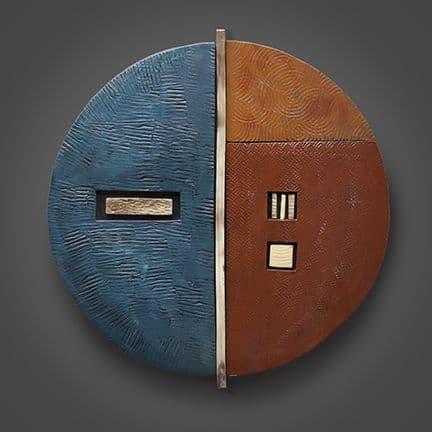 Large Sphere | Wall Hangings by Rhonda Cearlock
