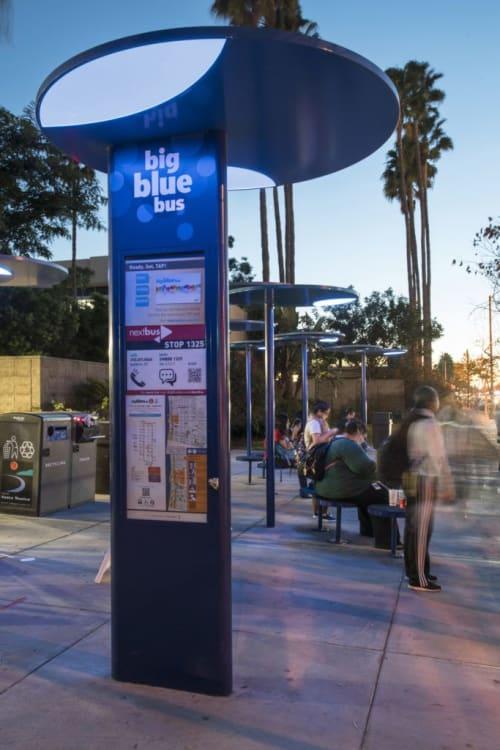 Big Blue Bus | Lighting Design by Darkhorse Lightworks, LLC | Santa Monica, CA in Santa Monica