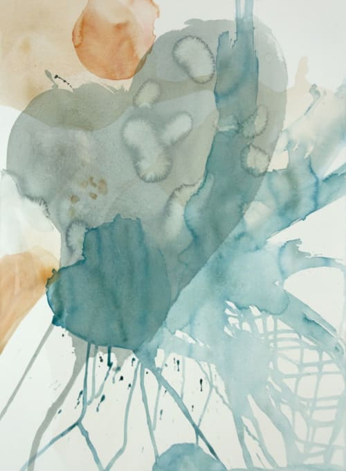 Paintings by Wendy Grace seen at Private Residence - walk with me + nowhere to go