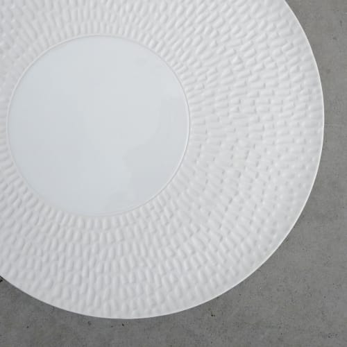 Ceramic Plates by Mieke Cuppen seen at JY's, Colmar - Texture plates Chuva