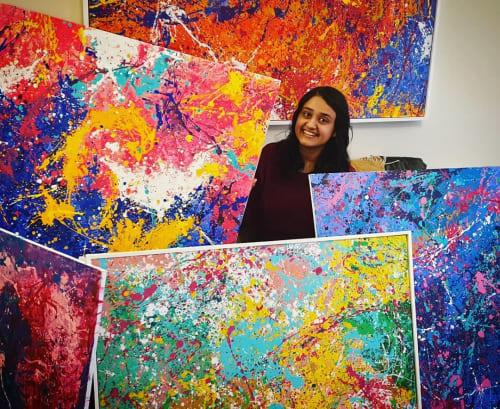 Asra Samad - Paintings and Art
