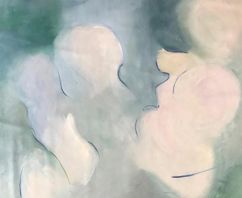 Paintings by Cecilia Arrospide seen at Creator's Studio, Lima - DANZAS