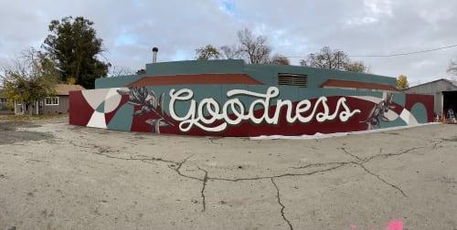 Street Murals by Trent Thompson seen at CrossWinds Church, Livermore - Goodness Murals