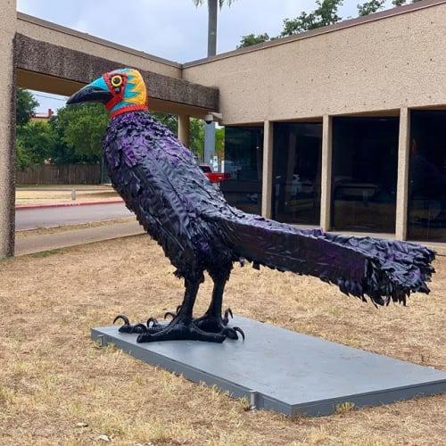 Public Sculptures by Christy Stallop seen at 301 W 2nd St, Austin - Ganador