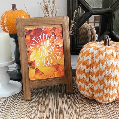 Art & Wall Decor by Vicky Barone seen at Private Residence, Cary - Fall Vibes print