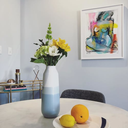 Paintings by Gee Gee Collins seen at Private Residence, Washington - Figuratuve Painting