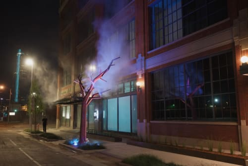 Public Sculptures by Matthew Geller seen at 21c Museum Hotel Oklahoma City, Oklahoma City - Woozy Blossom