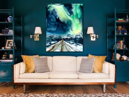 Aurora Borealis | Paintings by Brazen Edwards Artist