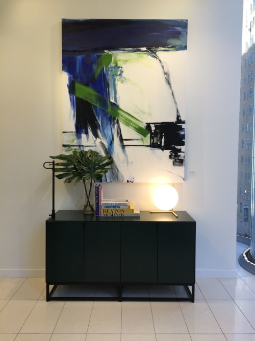 Art Curation by Emilia Dubicki seen at Nordstrom NYC, New York - Key West Morning, Third Floor Wave Wall