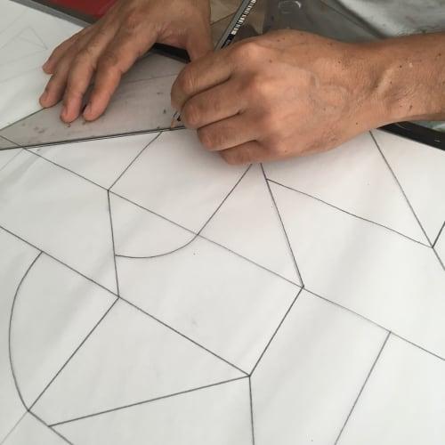 Architecture by Moleiro Artwork seen at ADRIANA HOYOS Furnishings, Miami - Adriana Hoyos Table