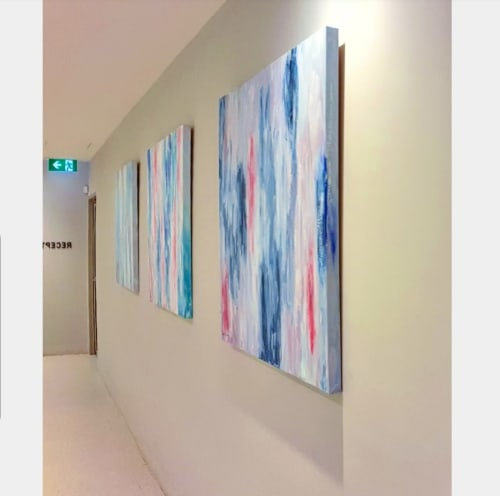 Imaging Associates Suites | Art Curation by Jacinta Payne | Mitcham Private Hospital in Mitcham