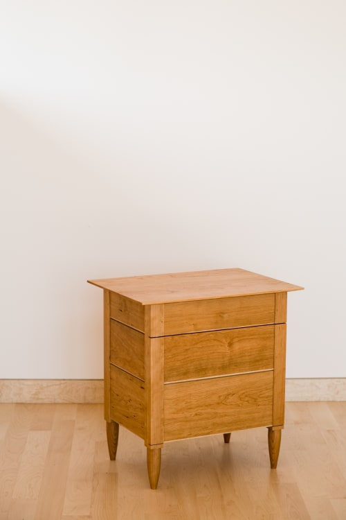 Tables by Evan Berding Custom Furniture + Woodwork seen at Private Residence, Durham - Nightstand #3