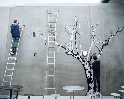 Street Murals by Sonsie Studios seen at Lara, Lara - Karreenga Prison Art Murals