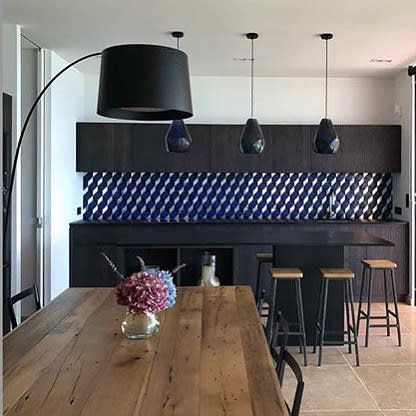 Pendants by Lyngard seen at Private Residence, London - Facet Pendant