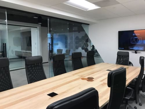 Tables by Rustic Trades Furniture at Riskalyze Atlanta, Atlanta - Conference Table