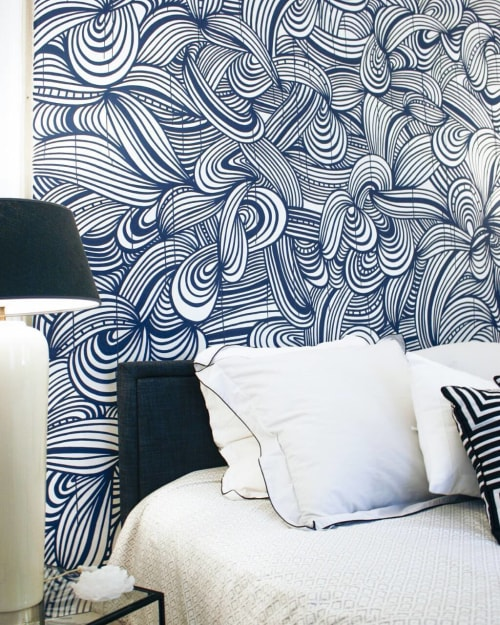 Murals by KEF! at Private Residence, Paris - Interior Mural