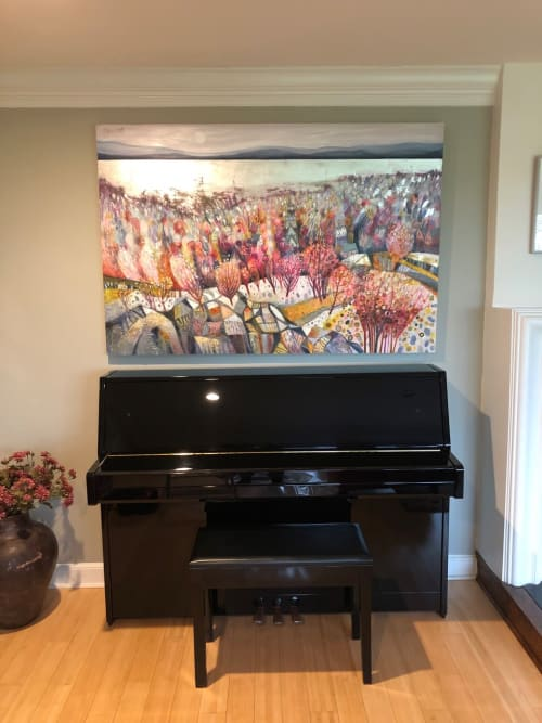 Paintings by BLYTHE SCOTT seen at Private Residence - 'West Coast Romance'