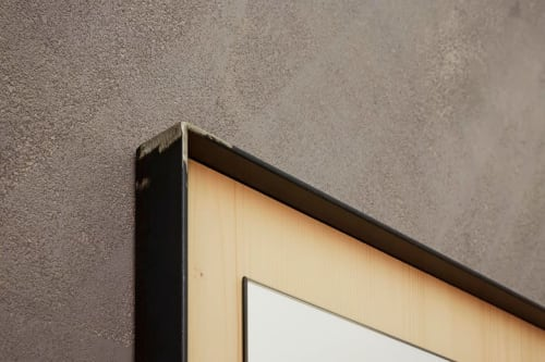 Wall Treatments by Design for Love seen at Alessandro Acconciature per Uomo, Santa Croce Camerina - Wall Treatment