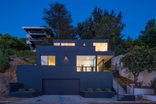 Architecture by ANX Architects seen at Private Residence, Silver Lake, Los Angeles - Tilt Shift House