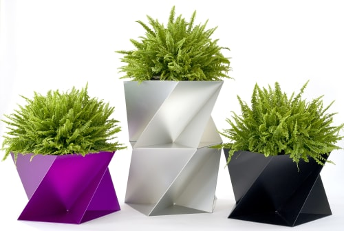 Pentagami Planter | Vases & Vessels by Trey Jones Studio | Inside/Out - The Vale Park in Brooklyn